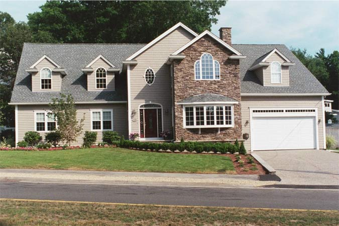 New construction gallery of derba construction new for Building a house in ma